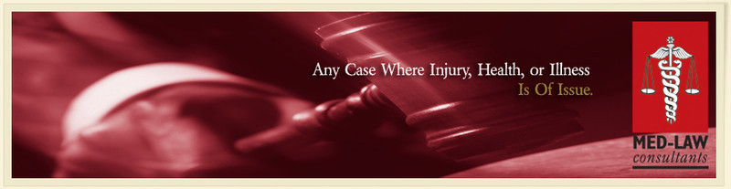 Experienced in plaintiff and defense cases in the criminal and civil legal medical arena, Med-Law Consultants assists paralegals and attorneys with injury accidents, workplace injury, and malpractice cases resulting from negligence.